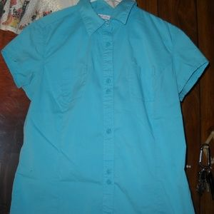 COLUMBIA GIRLS BLOUSE   SIZE M